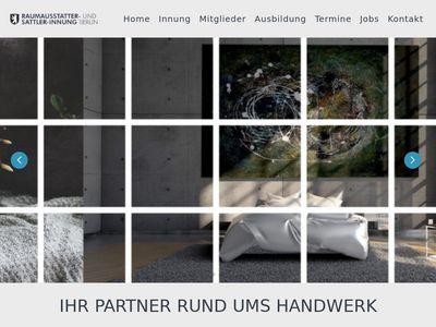 Raumausstatter und Sattler Innung Berlin
