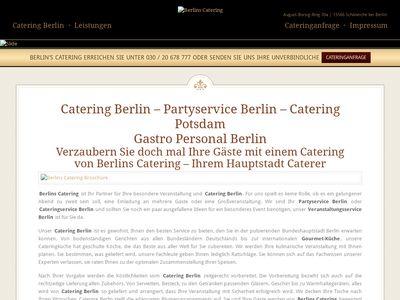 Berlins Catering