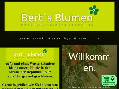 Bert's Blumen