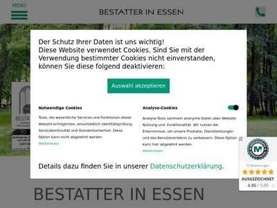 SCHRÖER - H.F. Bestatter in Essen GmbH