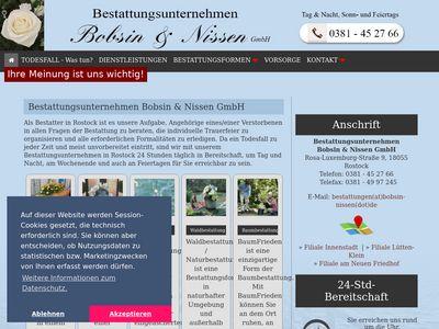 Bestattungsunternehmen Bobsin & Nissen GmbH