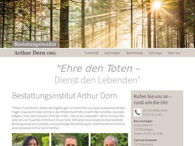 Bestattungsinstitut Arthur Dorn OHG