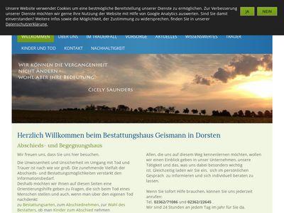 Geismann Rainer Bestattungen