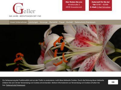 Bestattungen R. Geller
