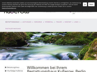 Kusserow Bestattungen GmbH