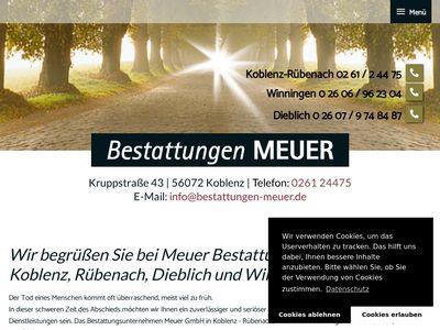 Meuer Franz-Josef Beerdigungsinstitut