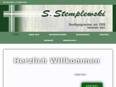 Beerdigungsinstitut S. Stemplewski