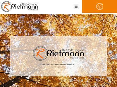Bestattungen Rietmann in Rheine