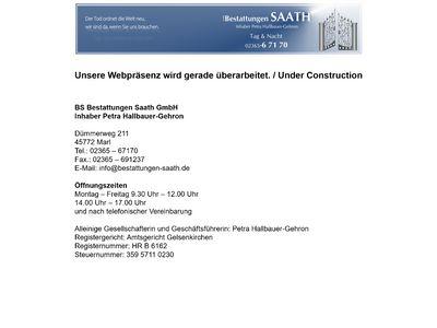 BS Bestattungen Saath GmbH
