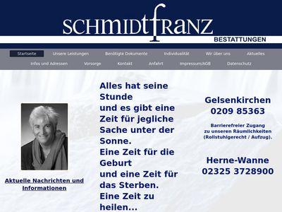 Bestattungen Schmidtfranz