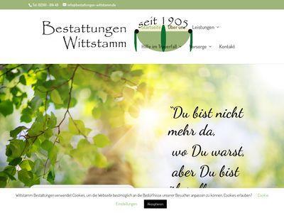 Bestattungen Wittstamm
