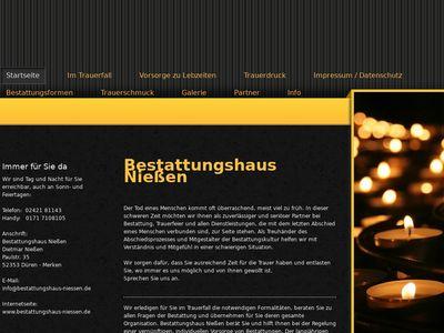 Bestattungshaus Niessen