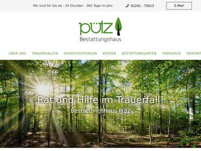 Bestattungshaus Pütz GmbH
