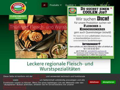 Fm Fleischmarkt GmbH Aschara Gotha