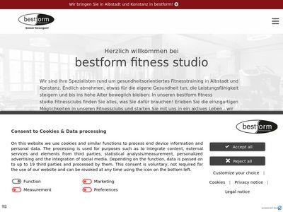 Bestform Fitness Studio Konstanz