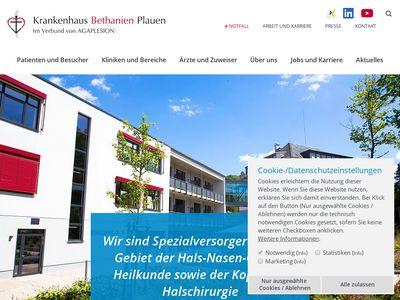 Bethanien Plauen Krankenhaus