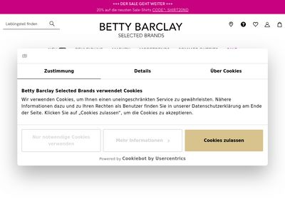 Betty Barclay Outlet