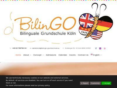 BilinGO Bilinguale Grundschule Köln
