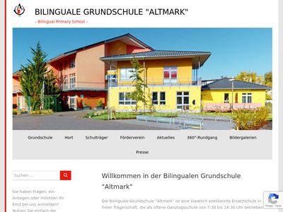 """Bilinguale Grundschule """"Altmark"""