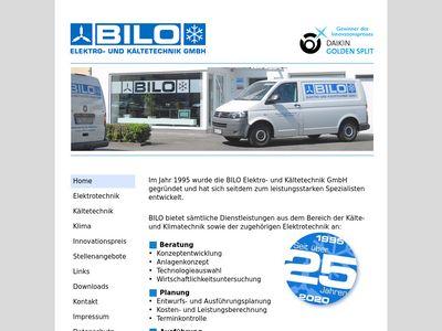BILO Elektro- und Kältetechnik GmbH