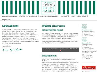 Burchhardt Bernd Bio-Fleischerei