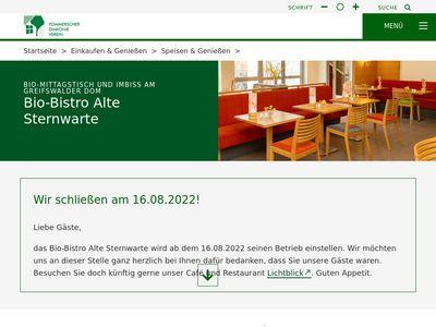 Bio-Bistro Alte Sternwarte