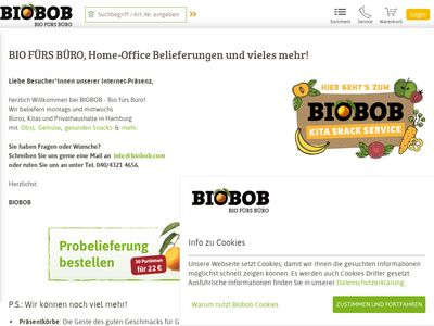 BIOBOB - BIO FÜRS BÜRO