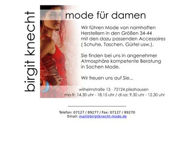 Peppinio-Moden Birgit Knecht