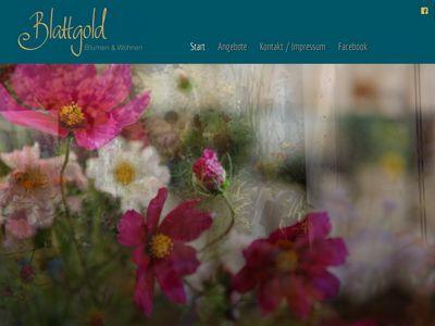 Blattgold - Blumen & Wohnen