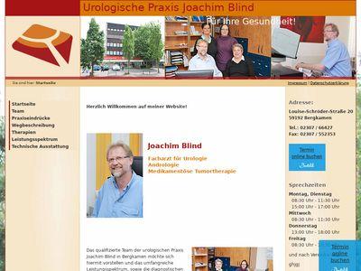 Joachim Blind Facharzt für Urologie