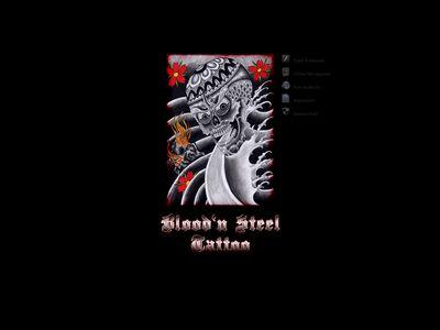 Blood 'n Steel Tattoo