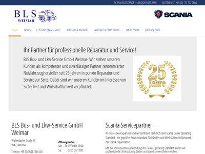 BLS Bus- und LKW- Service GmbH Weimar
