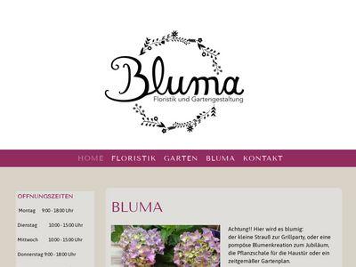 Bluma - Floristik und Gartengestaltung