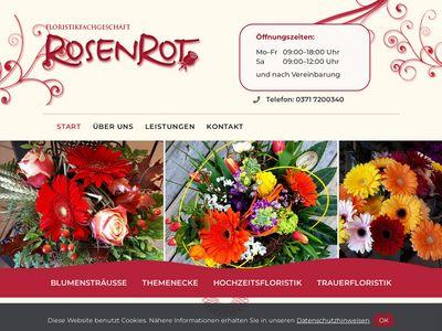 Floristikfachgeschäft Rosenrot