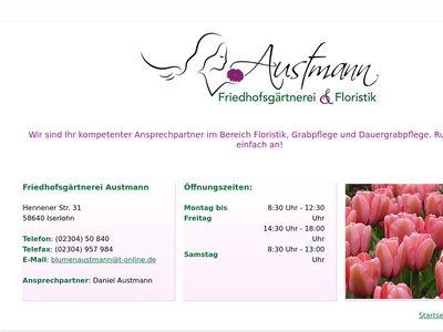 Blumen Austmann