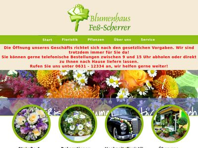 Friederike Fess-Scherrer Blumenhaus