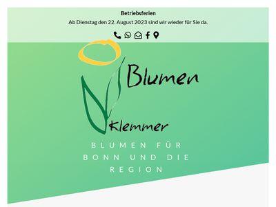 Blumen Theo Klemmer