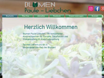 Blumen Paule-Liebchen