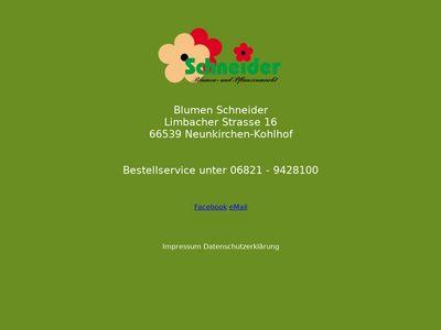 Blumen Schneider