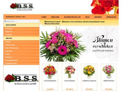 Blumen-Studio-Schwarz