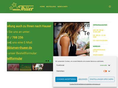 Blumen Thüer Lommes-Thüer