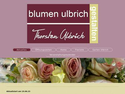 Blumen Ulbrich