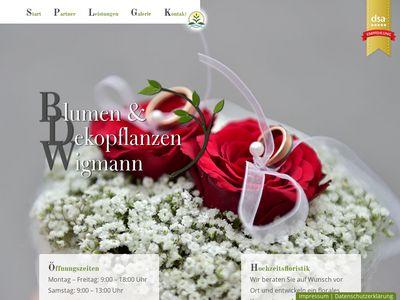 Blumen u. Deko-Pflanzen Wigmann
