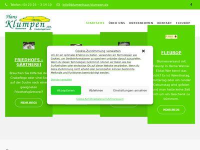 Hans Klumpen Gartenbaubetrieb e. K.