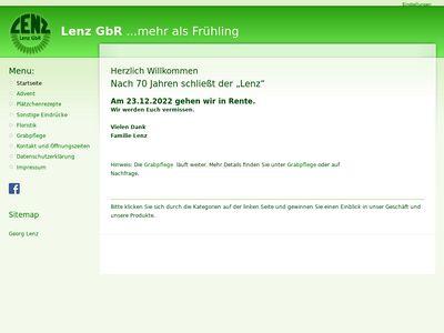 Blumen Lenz