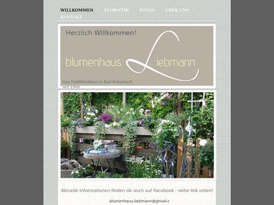 Blumenhaus Liebmann