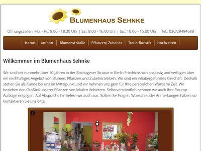 Blumenhaus Sehnke