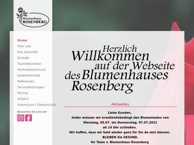 Blumenhaus Rosenberg in Mainz