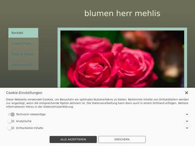 Blumen herr mehlis