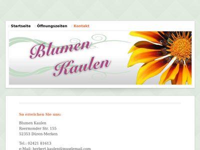 Herbert Kaulen Blumen Grabsteine